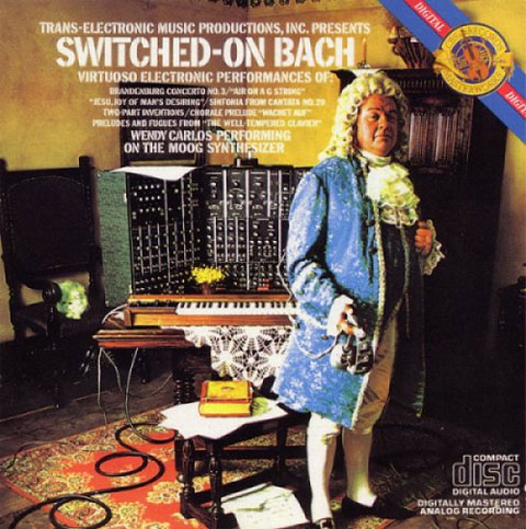 """Switched-On Bach"", one of the first classical albums to sell 500000 copies"